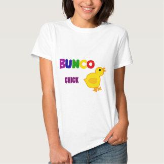 Arte del polluelo de Bunco de la diversión Camisas