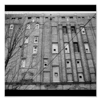 Arte del Poster-Amor Casa-Abandonado