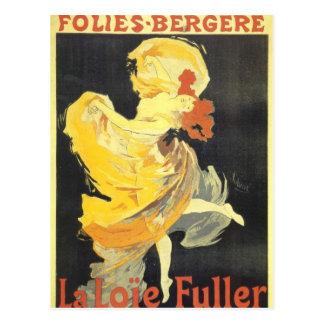 arte del poster de Cheret de los julets Postal