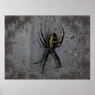 Arte del poster de la araña