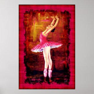 Arte del poster de la bailarina