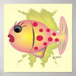 Arte del poster de los pescados de Whisical de Gai