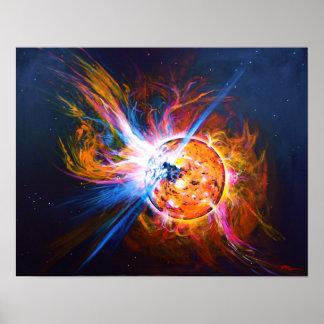 Arte del poster de nuestro Sun