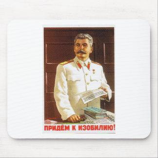 arte del poster de stalin tapetes de ratones