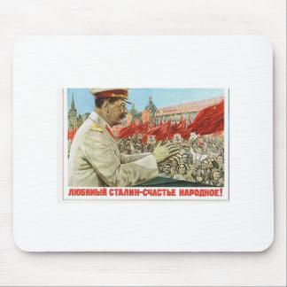 arte del poster de stalin tapetes de raton