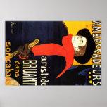 Arte del poster de Toulouse Lautrec
