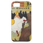 Arte del poster de Toulouse Lautrec iPhone 5 Case-Mate Protectores