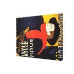 Arte del poster de Toulouse Lautrec Lona Estirada Galerías
