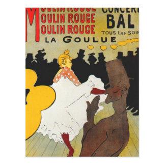 Arte del poster de Toulouse Lautrec Postales