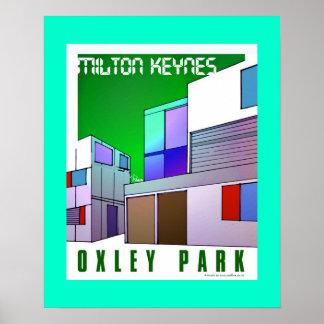 Arte del poster del parque de Oxley