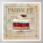 Arte del poster del Patisserie I
