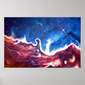 """Arte del poster del """"universo #2"""""""
