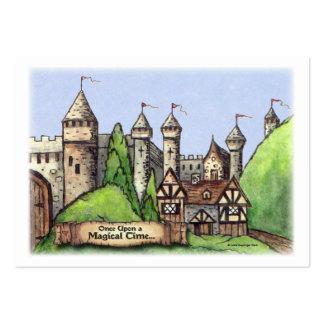 Arte del pueblo del renacimiento tarjetas de visita grandes