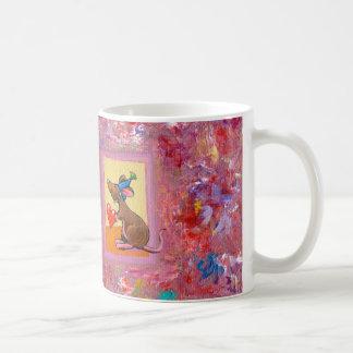 Arte del ratón - distribución abundante del amor d tazas