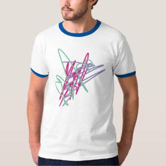 arte del relevo del chapoteo del vintage de los camisas