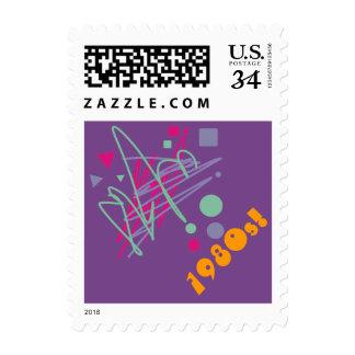 arte del relevo del chapoteo del vintage de los sellos