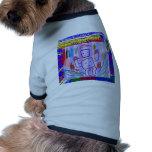 ARTE del ROBOT de los NIÑOS Camisas De Perritos