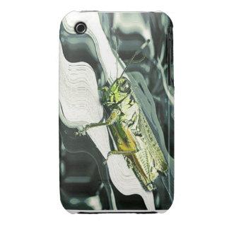 Arte del saltamontes funda para iPhone 3