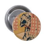 Arte del samurai de Japón circa 1800s Pin