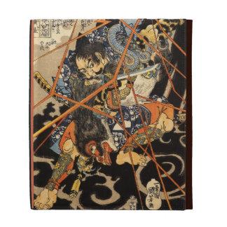 Arte del samurai del vintage