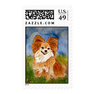 arte del sello de los sellos del perro del chihuaw