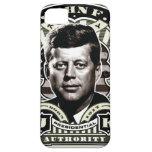 Arte del sello del vintage de John F. Kennedy iPhone 5 Case-Mate Cobertura