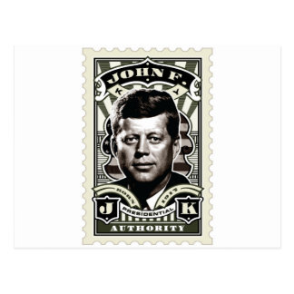 Arte del sello del vintage de John F. Kennedy Postal