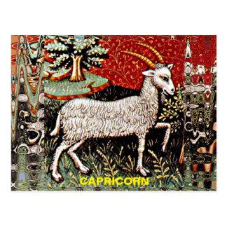 Arte del siglo XV del Capricornio Tarjetas Postales
