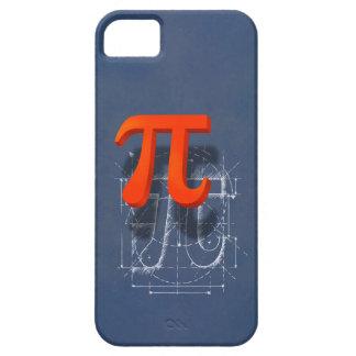 Arte del símbolo del pi funda para iPhone 5 barely there