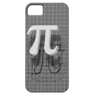Arte del símbolo del pi iPhone 5 carcasa