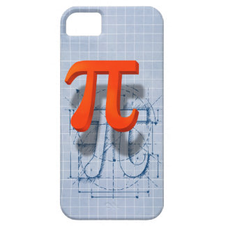 Arte del símbolo del pi iPhone 5 carcasas