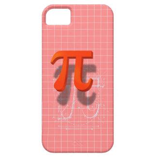 Arte del símbolo del pi iPhone 5 funda