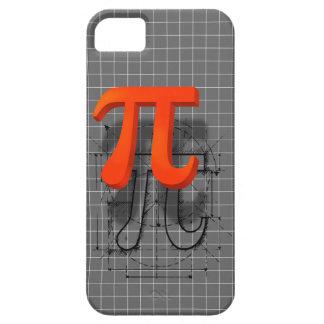 Arte del símbolo del pi iPhone 5 fundas