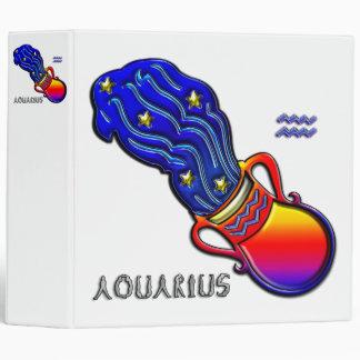 "Arte del símbolo del zodiaco del acuario carpeta 2"""
