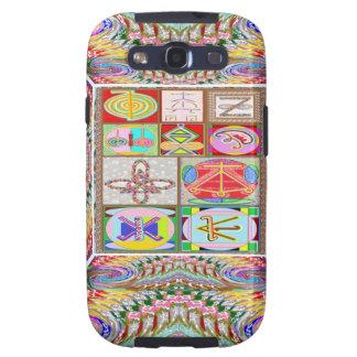 Arte del SÍMBOLO La compasión n que cura va junta Galaxy S3 Carcasa