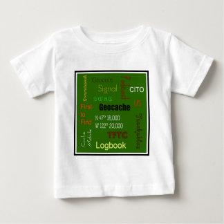 Arte del subterráneo de Geocache Tee Shirt