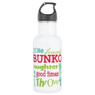Arte del subterráneo del Bunko por Artinspired Botella De Agua