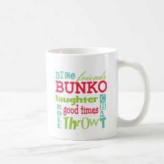 Arte del subterráneo del Bunko por Artinspired Taza De Café
