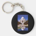 Arte del Taj Mahal Llaveros Personalizados