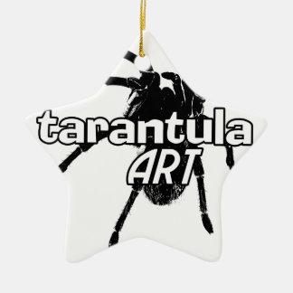 Arte del Tarantula Adorno Navideño De Cerámica En Forma De Estrella