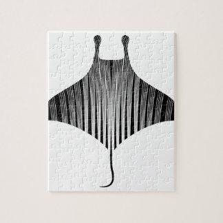 Arte del tatuaje del rayo de Manta Puzzles Con Fotos