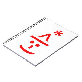 Arte del texto de Navidad ASCII del Emoticon del Libro De Apuntes