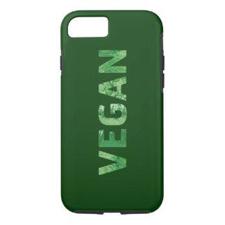 Arte del texto del vegano - cita feliz funda iPhone 7