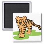 Arte del tigre iman