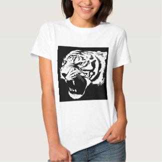 Arte del tigre playera