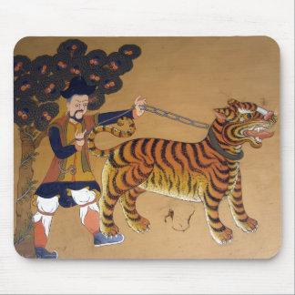 arte del tigre alfombrilla de ratones