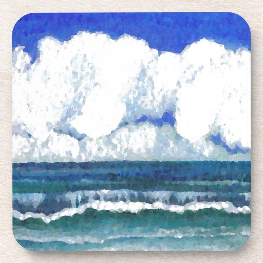 Arte del verano de la playa del mar de la sonata d posavaso