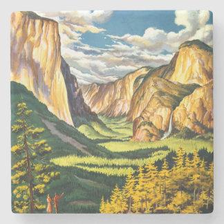 Arte del viaje de California del parque nacional Posavasos De Piedra