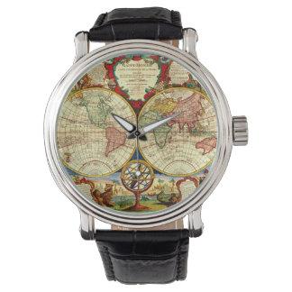 Arte del viaje del viaje de las vacaciones de la relojes de pulsera