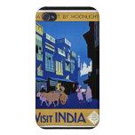Arte del viaje del vintage de la India de la visit iPhone 4/4S Carcasa